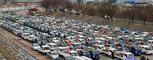청도군민들 새마을 재활용품 모으기 행사 압권