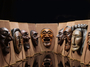 국보 하회탈 안동민속박물관에 상설 전시된다.