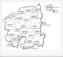 경북도 23개 시.군 지역안전도 - 안동시,영덕군 1등급