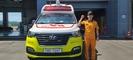 소방공무원과 시민 3명, 온몸으로 사고차량 막아내